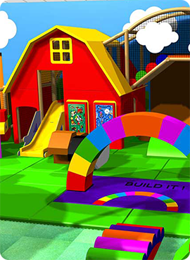 Soft Play Toddlers area by Play Revolution Ltd